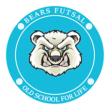 Bears Futsal Old School For life   Logo.