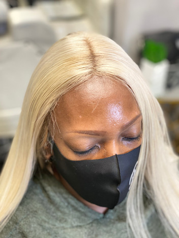 TRC Full Lace Custom Blonde Wig