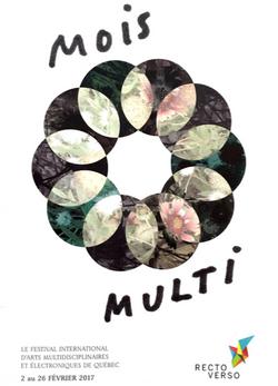 affiche festival Le Mois Multi
