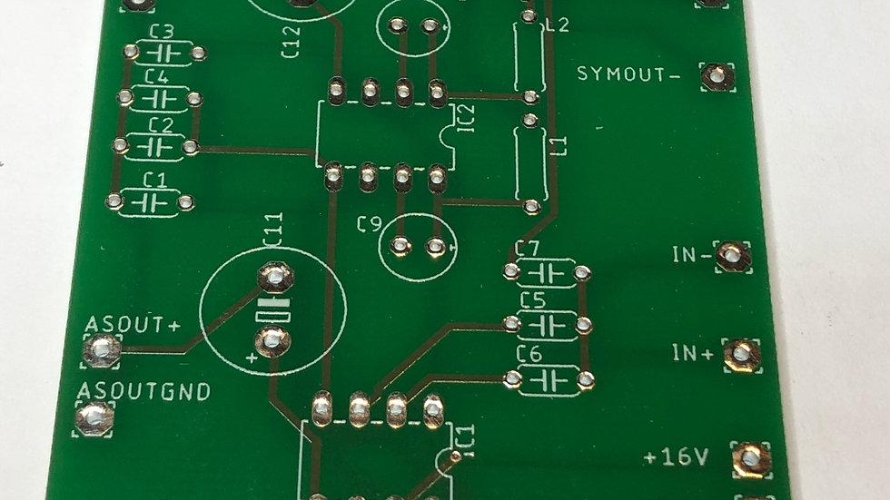 Asym-Sym zu Sym-Asym PCB nur Board