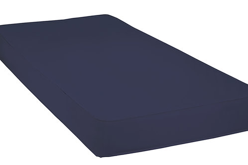 "Fiber Core Mattress with Polypropylene Cover, 80"" x 35"" x 6"""