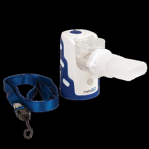 Roscoe nebGO Ultrasonic Handheld Nebulizer with Carrying Tote