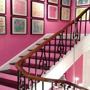 deco-moderne-de-cage-descalier-avec-pein