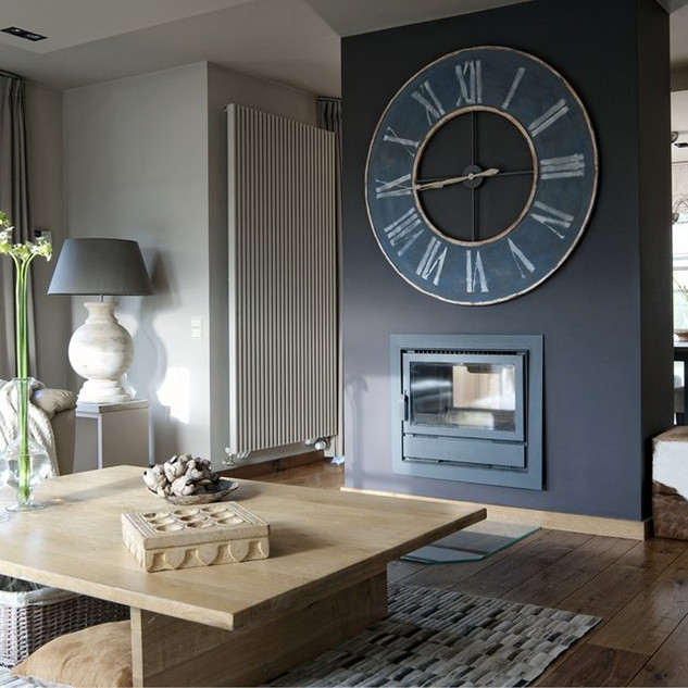 decoration-murale-salon-horloge hps oliv