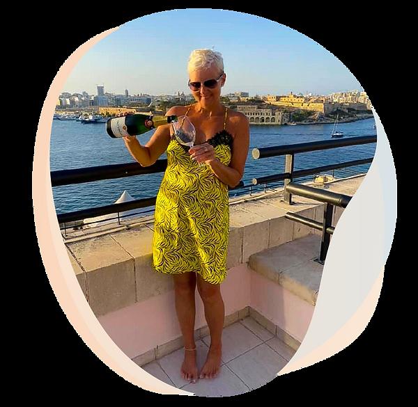 Valletta Malta Champagne Sunshine www.mi