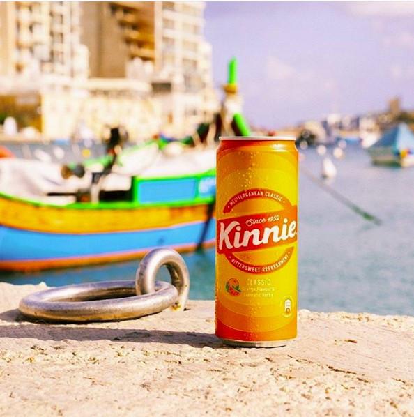 Farsons Kinnie Malta soft drink