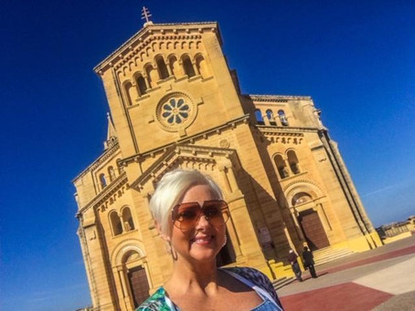Ta' Pinu Basilica, Gharb, Gozo. A centuries old National Shrine, filled with hope and miracles!