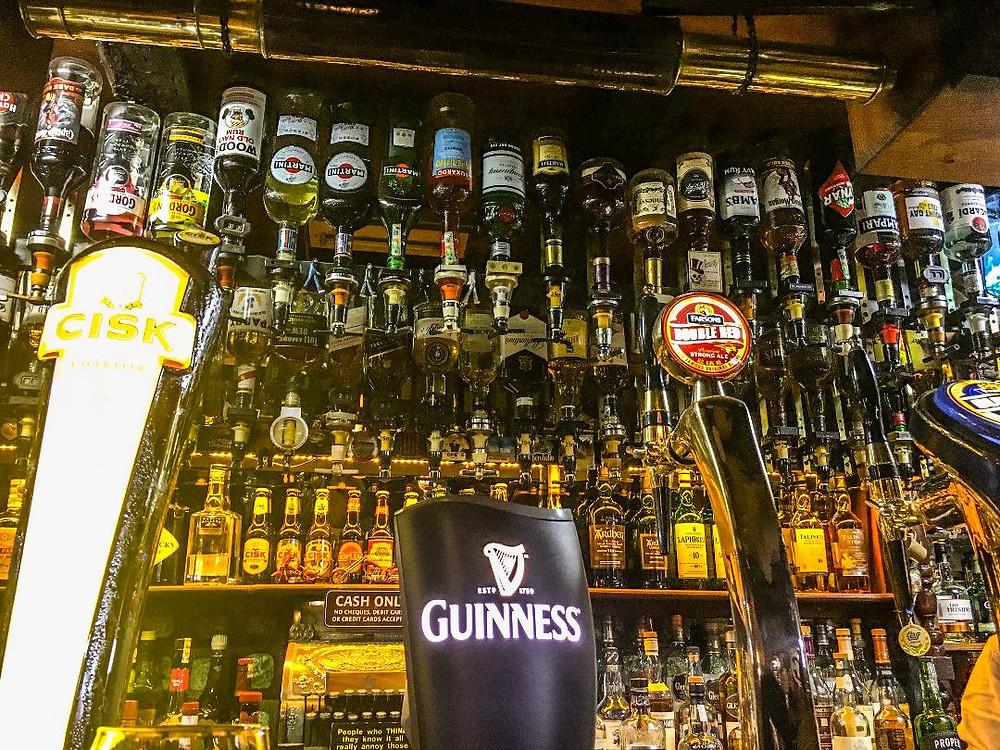The Plough & Anchor Pub, Main Street Sliema Malta