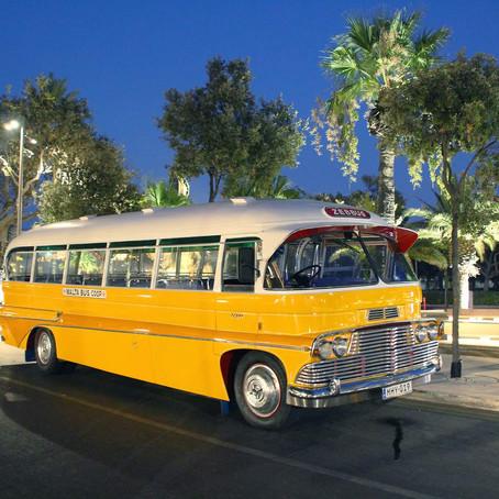 Tour Malta aboard an old Maltese bus!