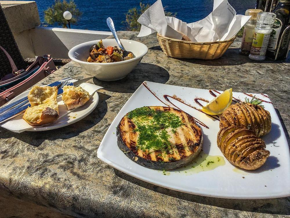 Lunch at Il Terrazzo Restaurant Xlendi Gozo Malta
