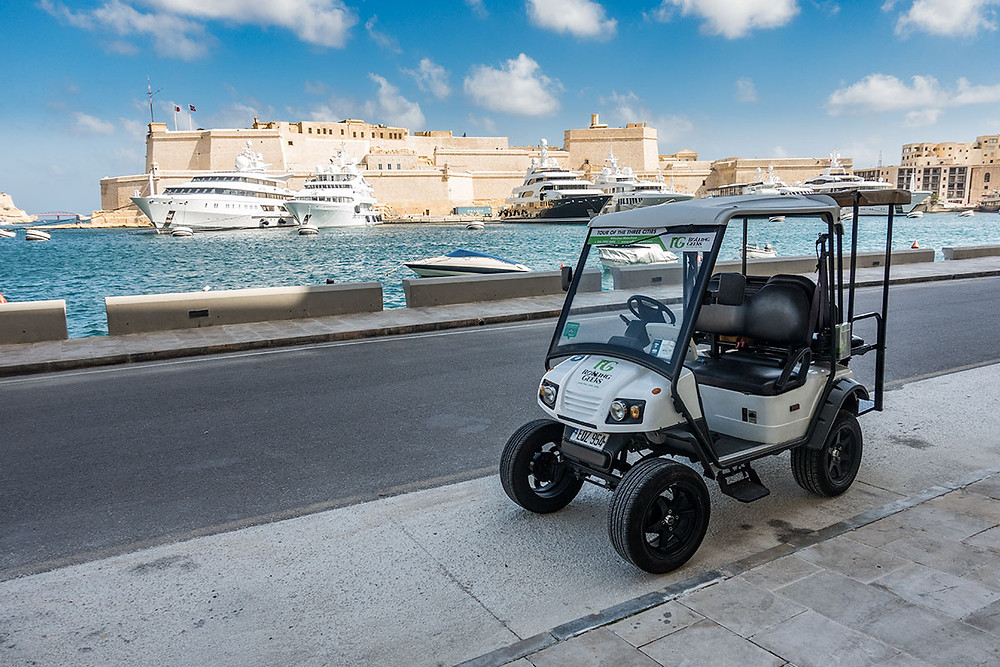Rolling Geeks Electric Talking Car Sightseeing Tour Malta Three Cities