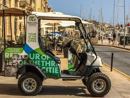 Fun things to do in Malta - The Rolling Geeks Tour!