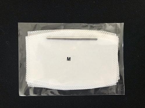 Cloth Mask Filter MEDIUM 5-PACK