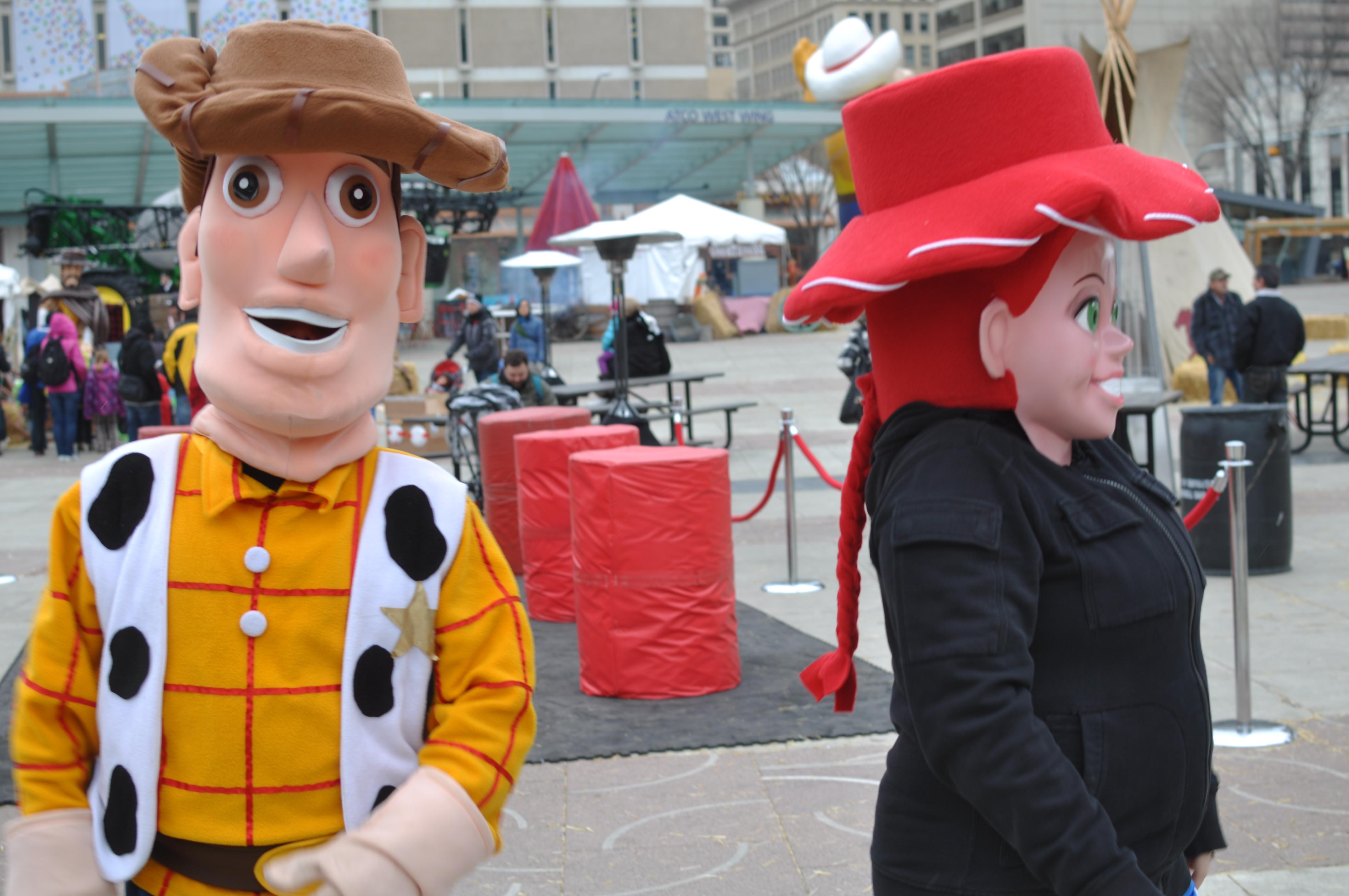 Mascots at RCR