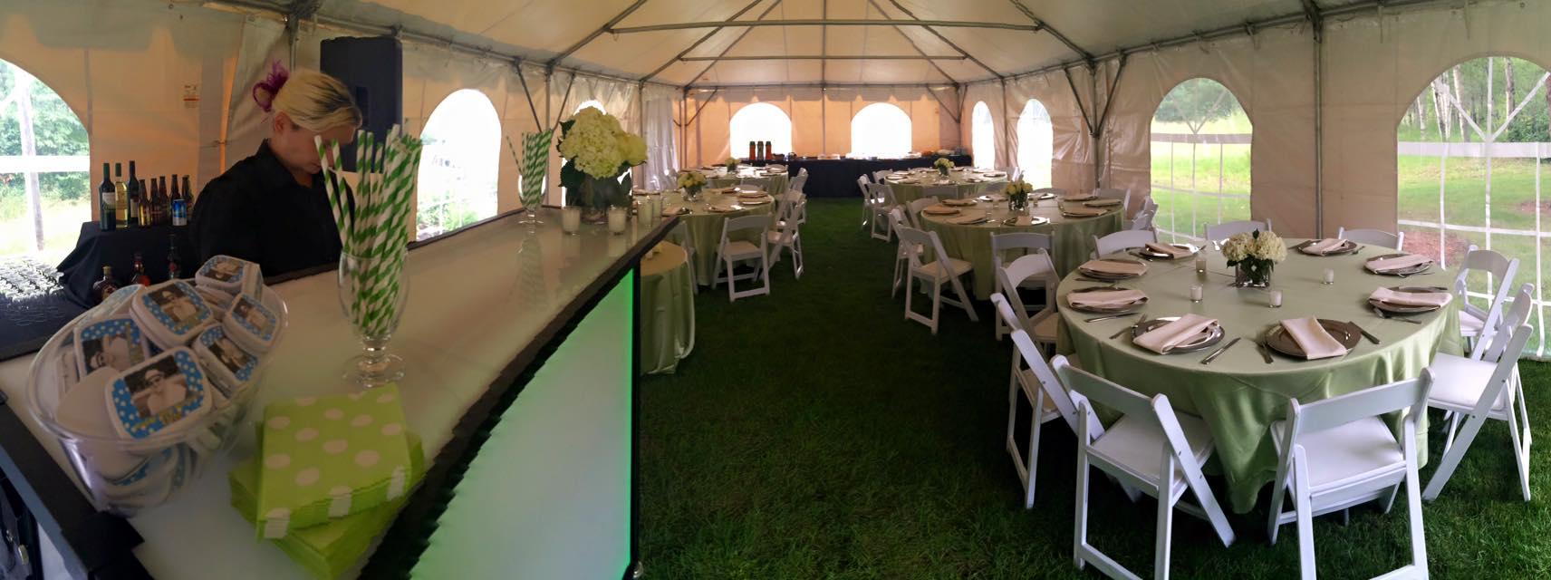 Tent Celebration