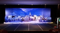 Winter Village 3D Scape