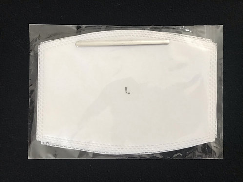 Cloth Mask Filter LARGE 5-PACK