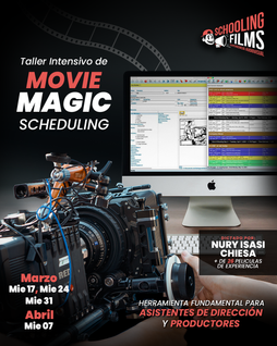 Taller: Movie Magic Scheduling