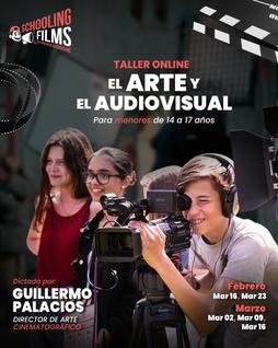 Taller: El Audiovisual y las Artes para menores de 13 a 17 años