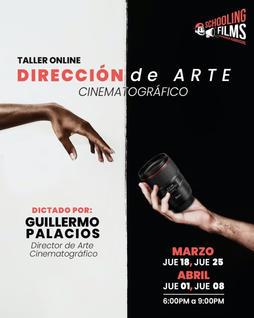 Taller: Dirección de Arte Cinematográfico