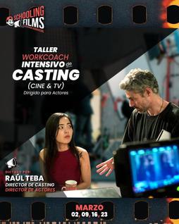Taller: Casting para cine y Tv