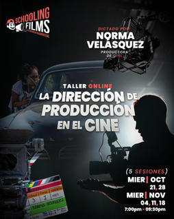Taller: Dirección de Producción en Cine