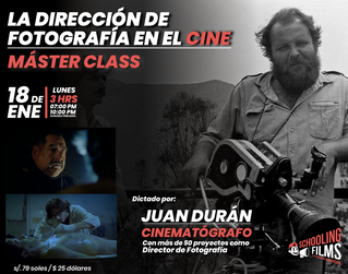 Máster Class: La Dirección de foto en el Cine