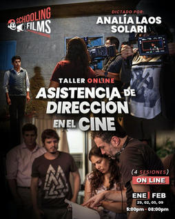 Taller: Asistencia de Dirección en el Cine