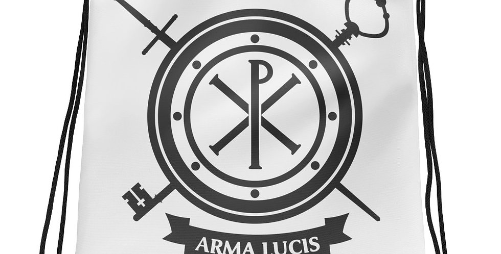 Arma Lucis / Armor of Light Drawstring Bag