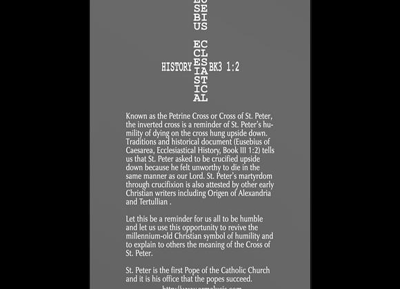 Petrine Cross Eusebius Post Card