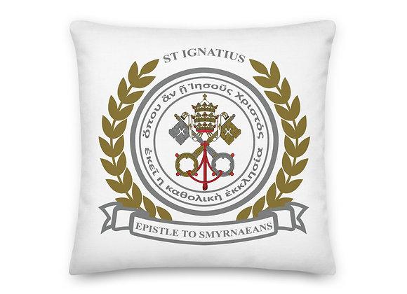 St. Ignatius of Antioch Catholic Church Premium Pillow