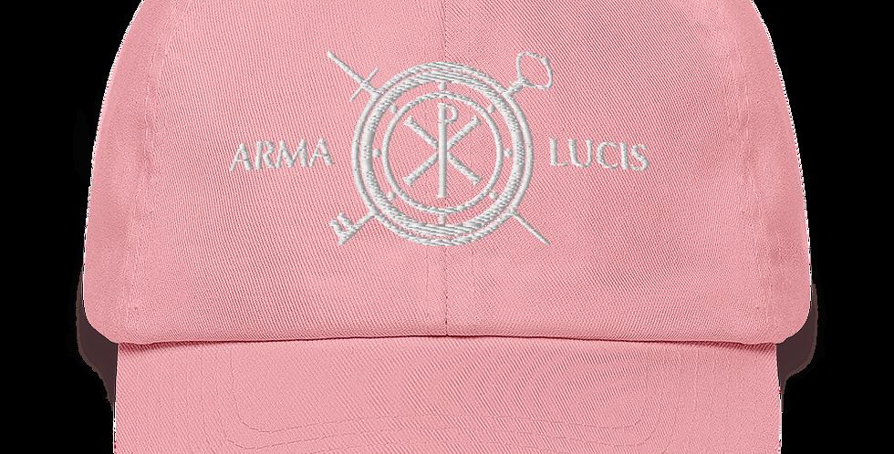 Arma Lucis / Armor of Light Baseball Cap - White Stitch