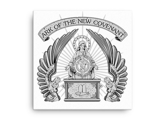 Ark of the New Covenant / Virgin Mary Canvas