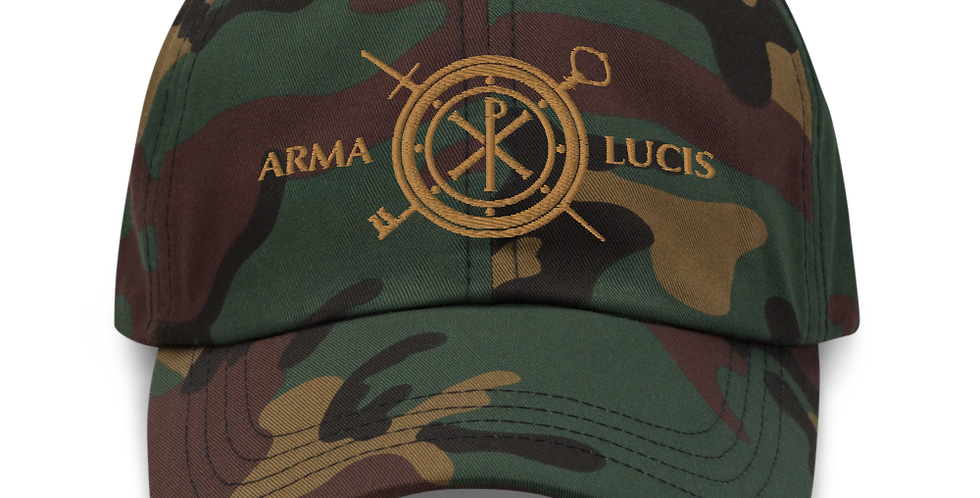 Arma Lucis / Armor of Light Camo Baseball Cap