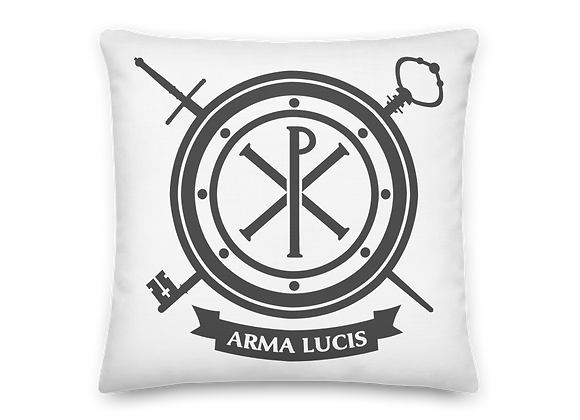 Arma Lucis / Armor of Light Premium Pillow