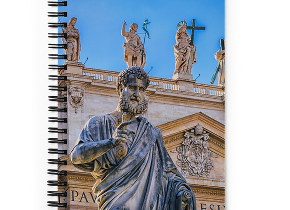 St. Peter and St. Paul Spiral Notebook