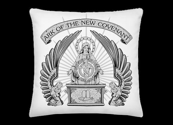 Ark of the New Covenant Virgin Mary Premium Pillow