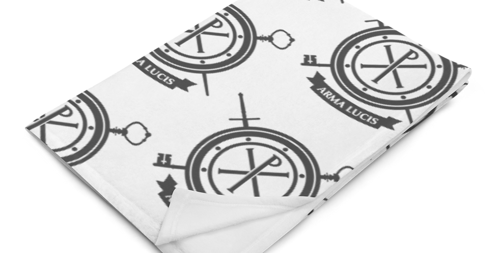 Arma Lucis / Armor of Light Throw Blanket