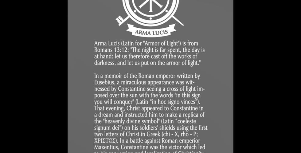 Arma Lucis / Armor of Light Post Card