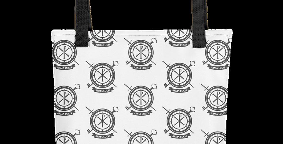 Arma Lucis / Armor of Light Tiled Tote Bag