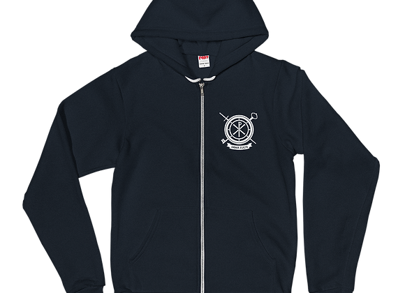 Arma Lucis / Armor of Light Zipper Hoodie Sweater