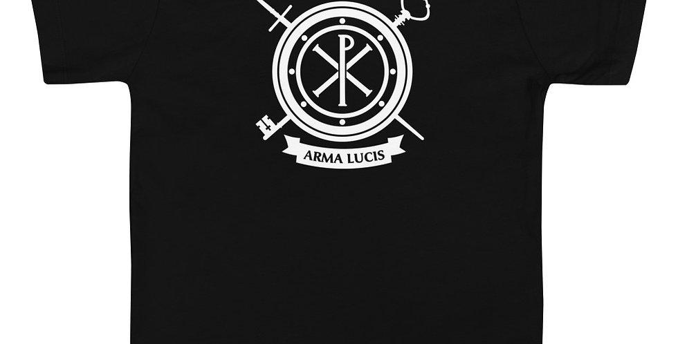 Arma Lucis / Armor of Light Toddler Short Sleeve Tee