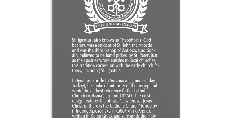 St. Ignatius of Antioch Catholic Church Post Card