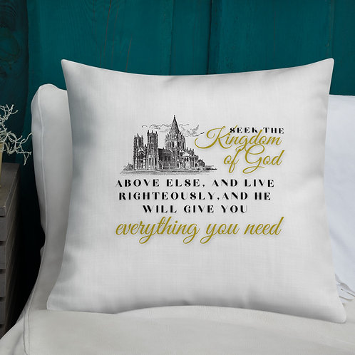 "Pillow ""Everything You Need"""