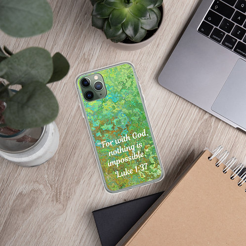"iPhone Case ""Nothing Is Impossible"""