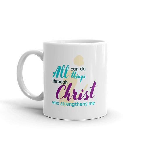 "Mug ""I Can Do All Things"""