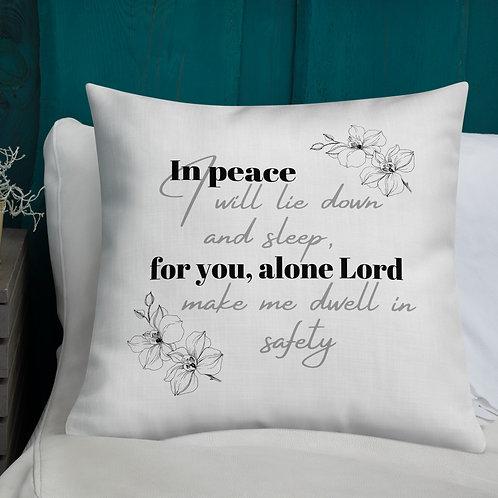 """Premium Pillow """"Peace"""""""