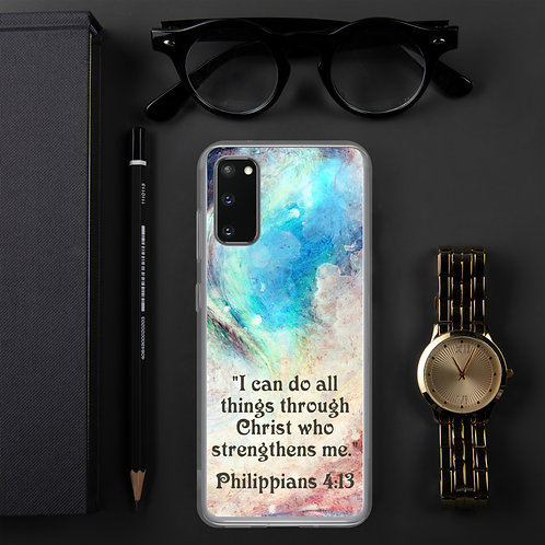 "Samsung Case ""I Can Do All Things"""