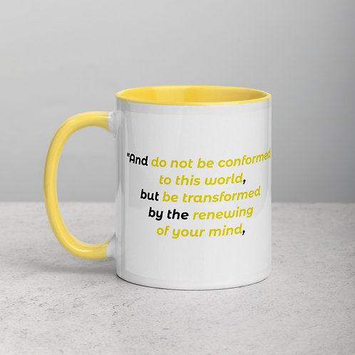 """Mug """"Renewed Mind"""""""