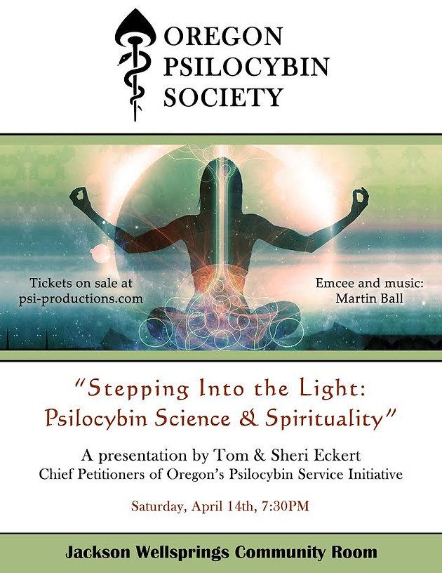 Stepping into the Light: Psilocybin Science & Spirituality